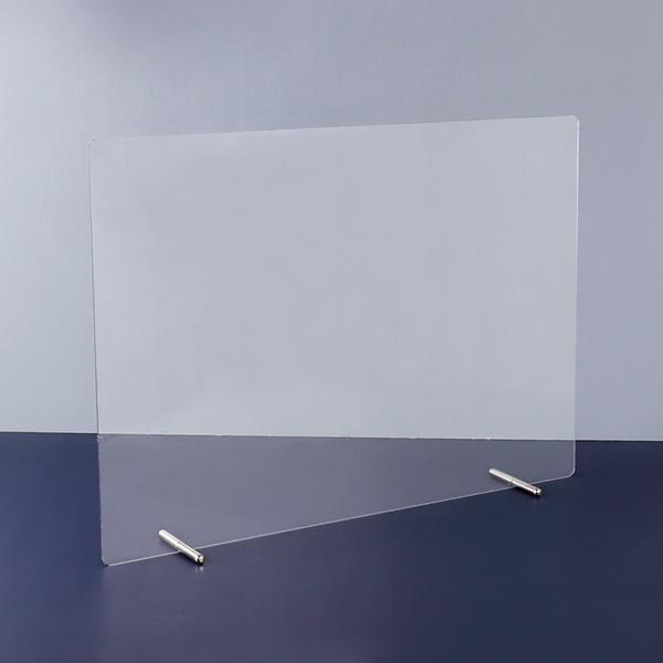 아코빅스 투명 PC 책상 가림막 학교 이동식 칸막이 비말 차단막 (볼트포함), 90x60cm(3T) 볼트 AC