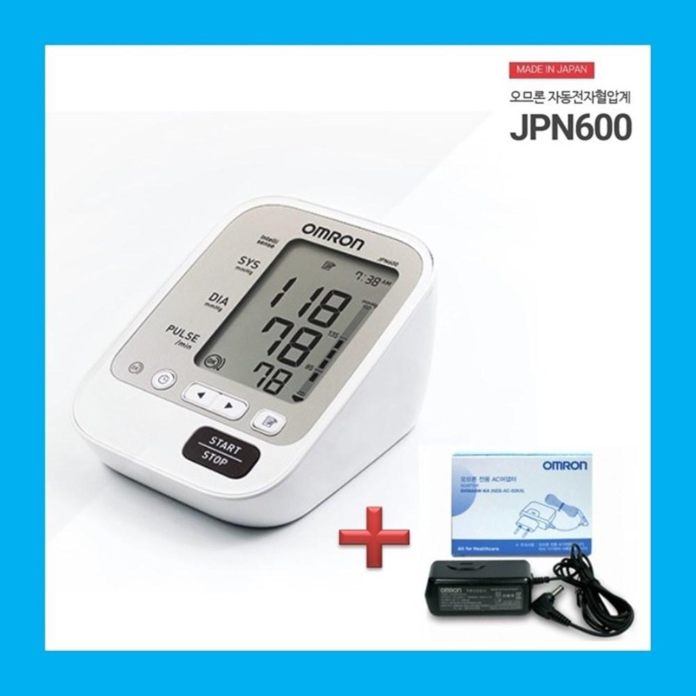 오므론 가정용 혈압측정기 자동 혈압계 혈압기 JPN600, 1000개