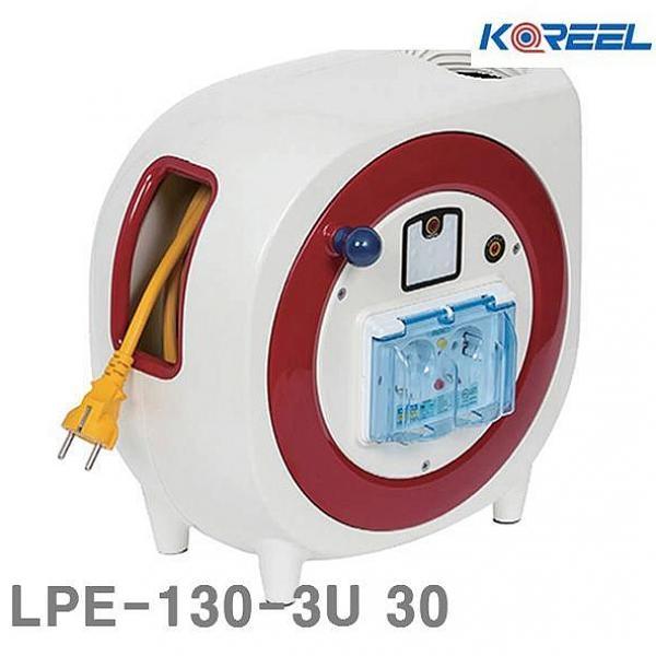 인터프라자 삼국 수동전선릴 LPE-130-3U 30 5 10 1EA 전기연장선 릴선, 1, 1