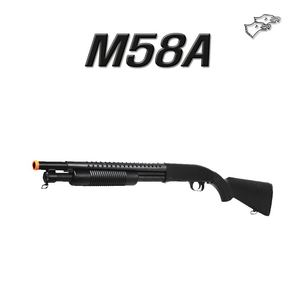 더블이글 M58A 샷건 에어건 BB탄총, 1개