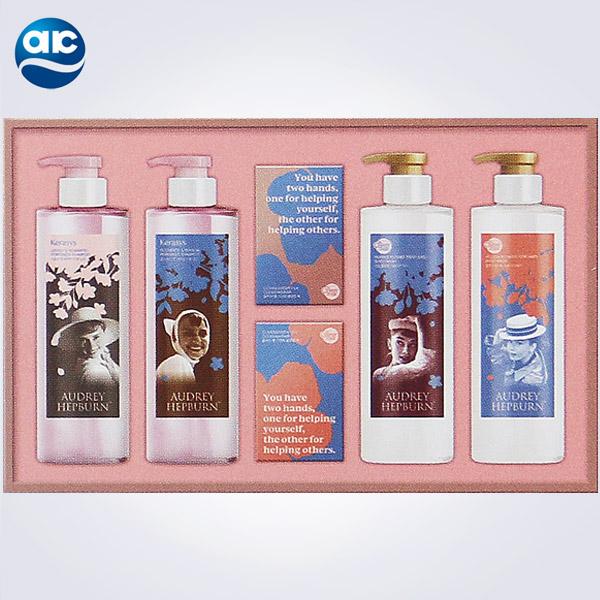 애경 선물세트 오드리헵번 헤어 앤 바디 에디션 1호, 1개