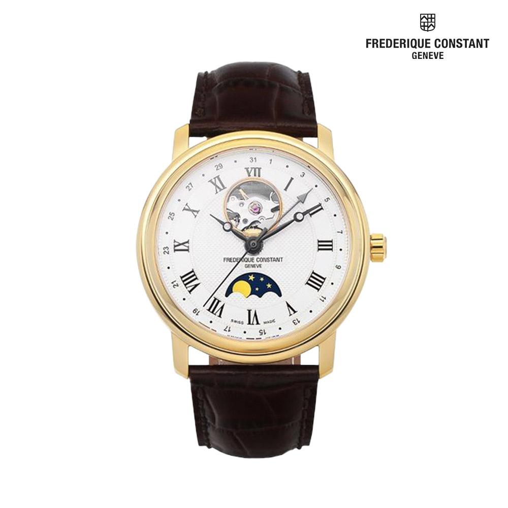 프레드릭콘스탄트 문페이즈 남성 손목시계 335MC4P5
