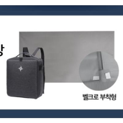 초간편 스마트빔 30초 프로젝터 르바타 E431W + 무선 마우스 + 무반사스크린 증정 / 넷플릭스 유튜브 5g WiFi 탑재, e431w+삼각대+스크린+전용가방+mhl케이블올인원