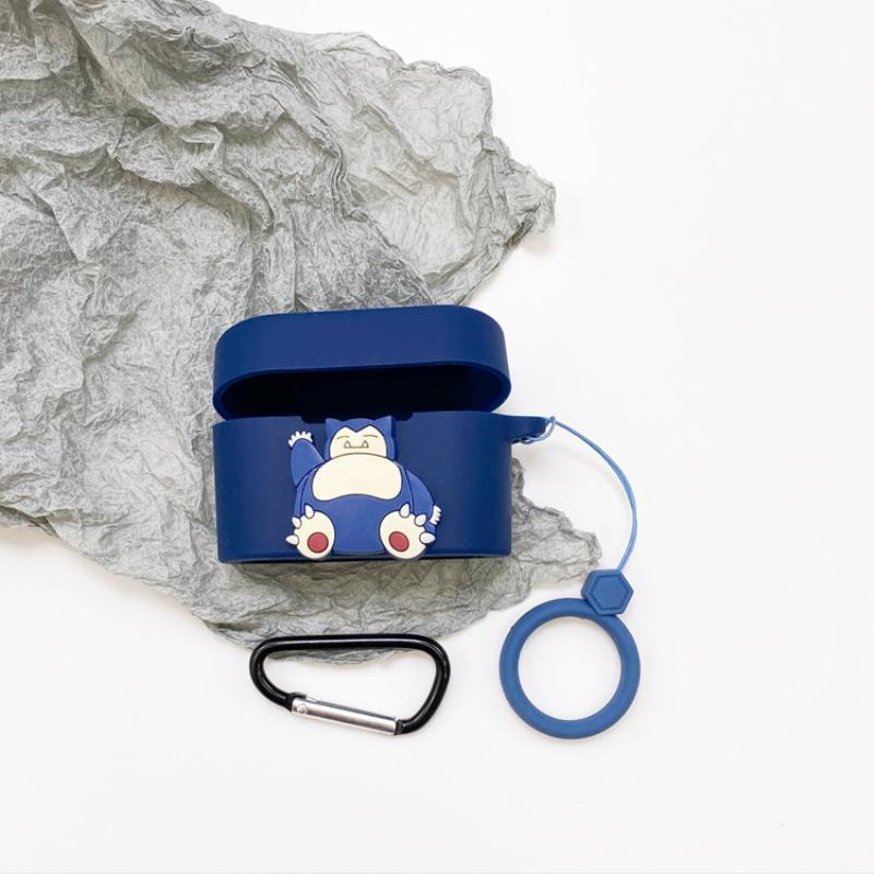 QCY HT01 무선 블루투스 헤드셋 세트에 적합 qcyht01 낙하 방지 성격 쉘, QCY HT01 진한 파란색 카비 짐승 로프 루프