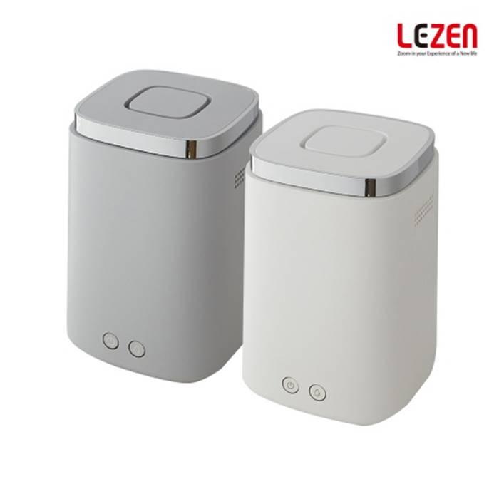 [LEZEN] 르젠 가열식 가습기(대용량 2.2L/최대8시간 가습/이중 안전장치/넓은 범위의 가습/편리한 버튼식 조작부)건조한 공기를 맑고 향기롭게 즐기는 르젠만의 대용량 가습기, 그레이