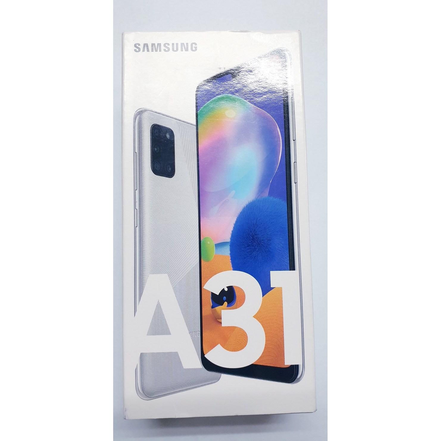 [풀박스 새제품] 삼성전자 갤럭시A31 64GB 공기계 무료배송, 실버