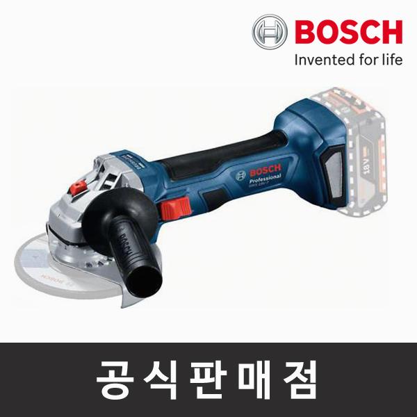 보쉬/정품/GWS 18V-7/충전그라인더/브러쉬리스/4인치/본체만/베어툴 (POP 2237779144)