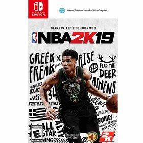 NBA 2K19 닌텐도 스위치 영문판 농구 게임 단품