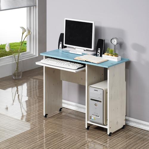 비바체 나드레컴퓨터책상-HDC800, 블루워시