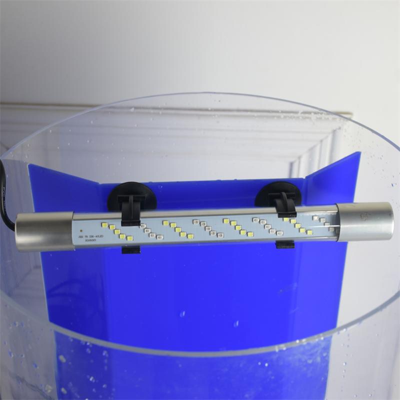 해파리키우기 샤오미어항 바닥부터 천장까지 거실 원통형 수조 중소 아크릴 수족관 무료 물, 별도 판매되는 포스트 필터 용 특수 램프