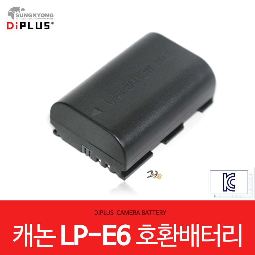 캐논 5D MARK4/5D MAKR3 호환 배터리 LP-E6 / KC인증, 단일상품