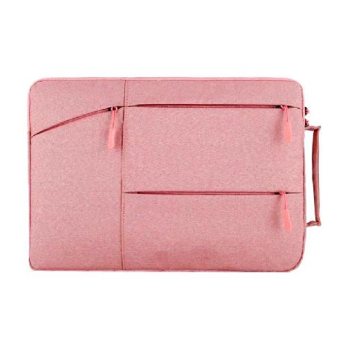 LG그램 맥북 17인치 16인치 15인치 14인치 13인치 파우치 노트북 케이스 손잡이 삼성 맥북프로 맥북에어 엘지그램, 핑크(B타입)