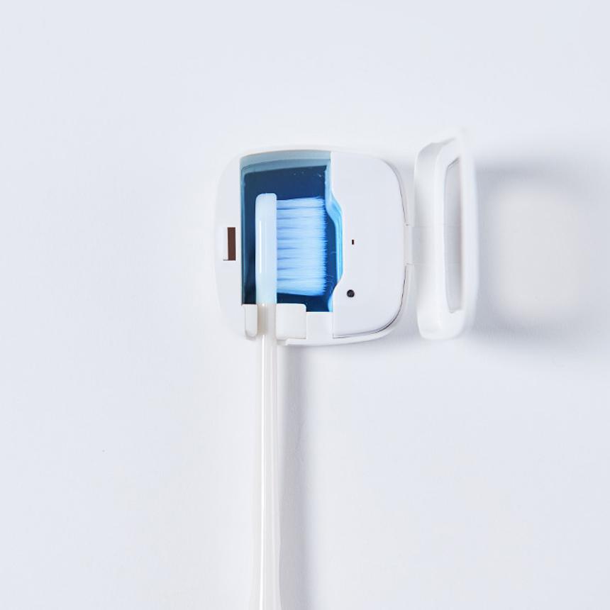 비타그램 LED 칫솔 살균기 가정용 휴대용 전기 세척 욕실, 단품, 단품