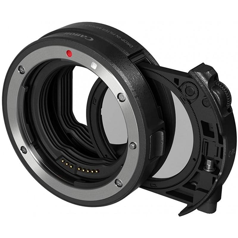 Canon 드롭 인 필터 마운트 어댑터 EF-EOS R 원형 편광 필터 A 부 EOSR 대응 DP-EF-EOSRPLC, 단일상품