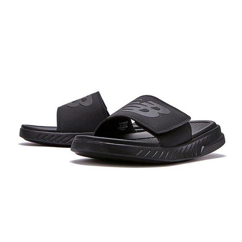 [뉴발란스][남녀공용] NB 쿠셔닝 슬라이드 슬리퍼 SD1501GBB (NBRJAS112B) Black(갤러리아)