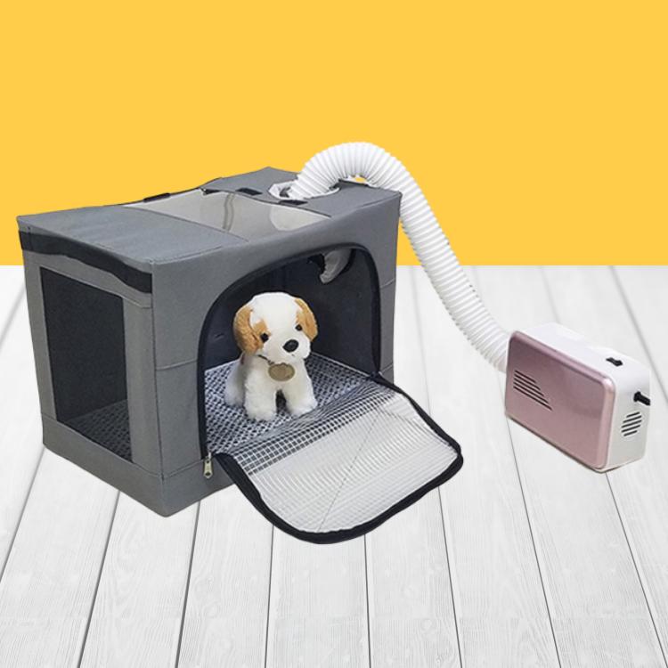 공간누리 강아지털말리는기계 가정용 펫드라이룸 고양이 건조기, 접이식 통풍 드라이룸 + 건조기