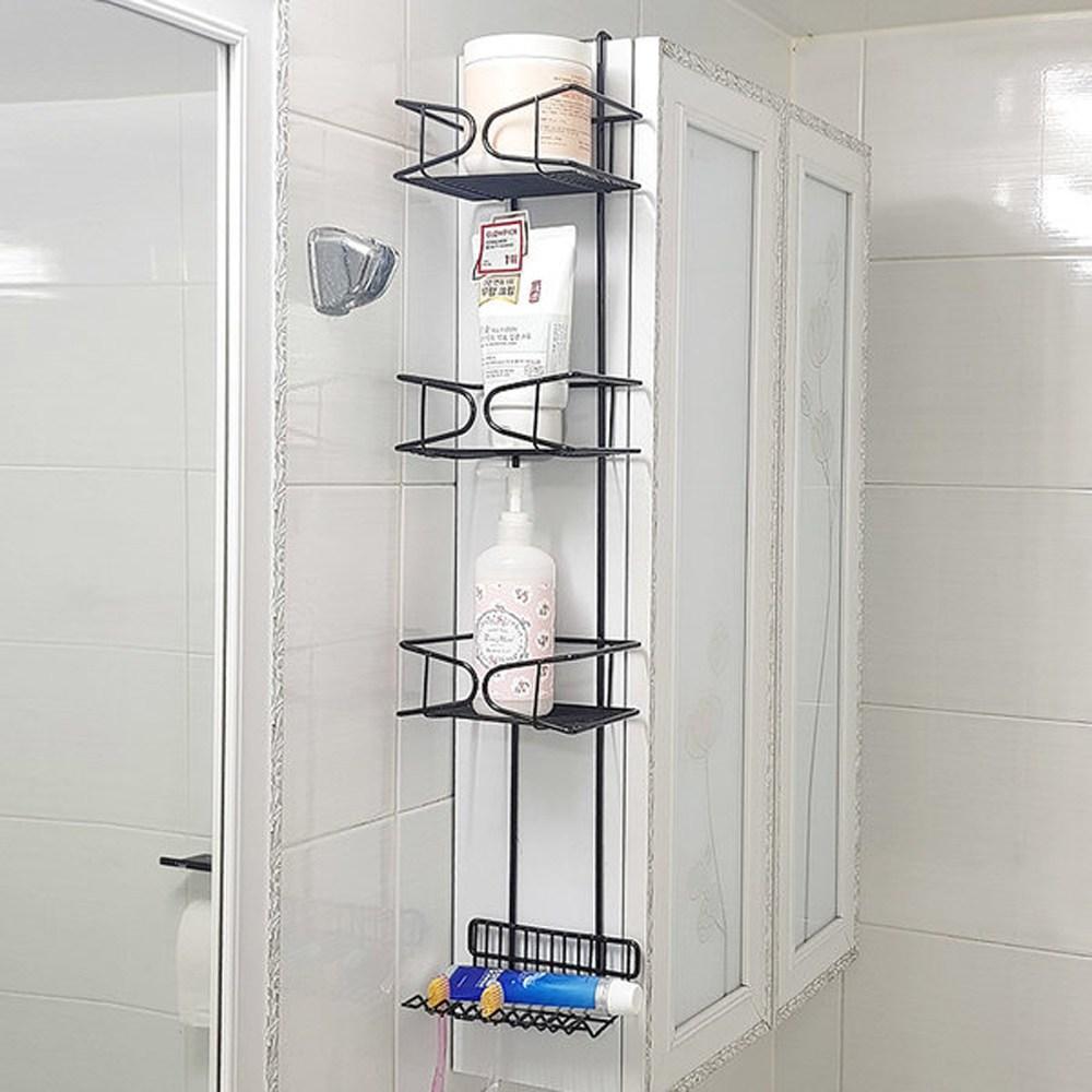 센스2030 거치식 틈새 욕실선반 욕실장 정리대 칫솔걸이