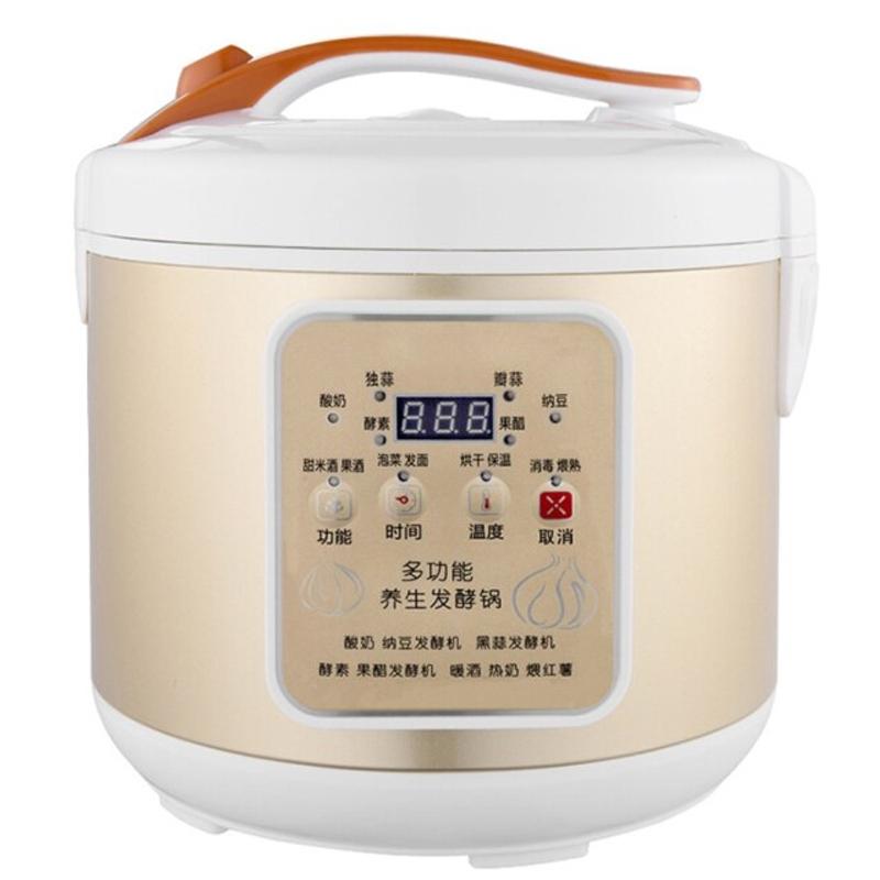 요구르트 제조기 자동 달콤한 막걸리 낫토 수제 검은 마늘 발효 발효 요거트 기계, 하얀색, 일본