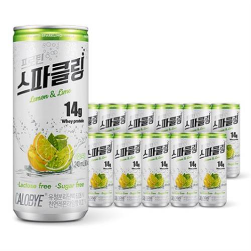 칼로바이 프로틴 스파클링 단백질 음료 분리유청 WPI 헬스보충제 12개입, 24개입, 240ml-2-5801467739