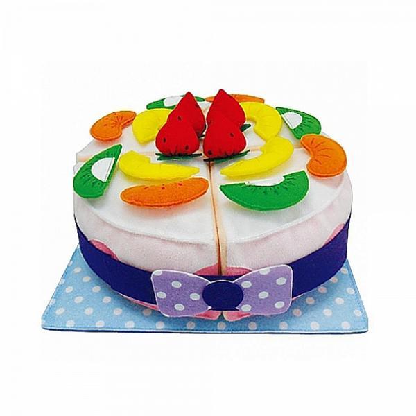 도리파이 폭신폭신 헝겊 케이크 소꿉놀이