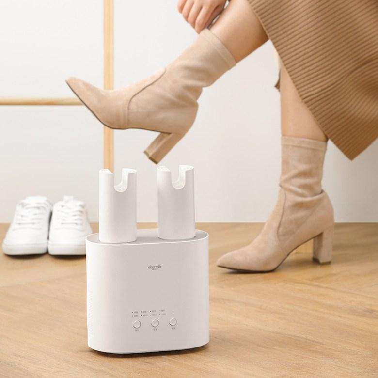 샤오미 다용도 신발건조기 제습/냄새제거 디어마, 회색