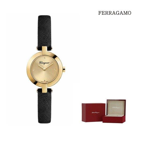 [페라가모(시계)] 페라가모 미니어처 골드 여성시계 FAT020017