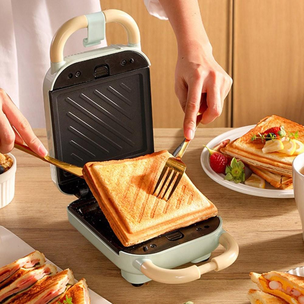 다용도 샌드위치 메이커 3in1 와플 붕어빵 간식메이커, 샌드위치 화이트