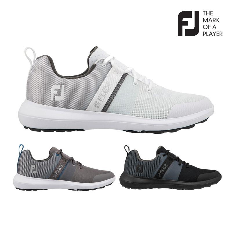 풋조이 스파이크리스 - [풋조이정품] 2021년형 신제품 FLEX2 스파이크리스 골프화 3컬러