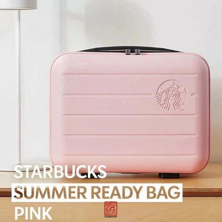 스타벅스 썸머 서머 래디백 핑크 그린