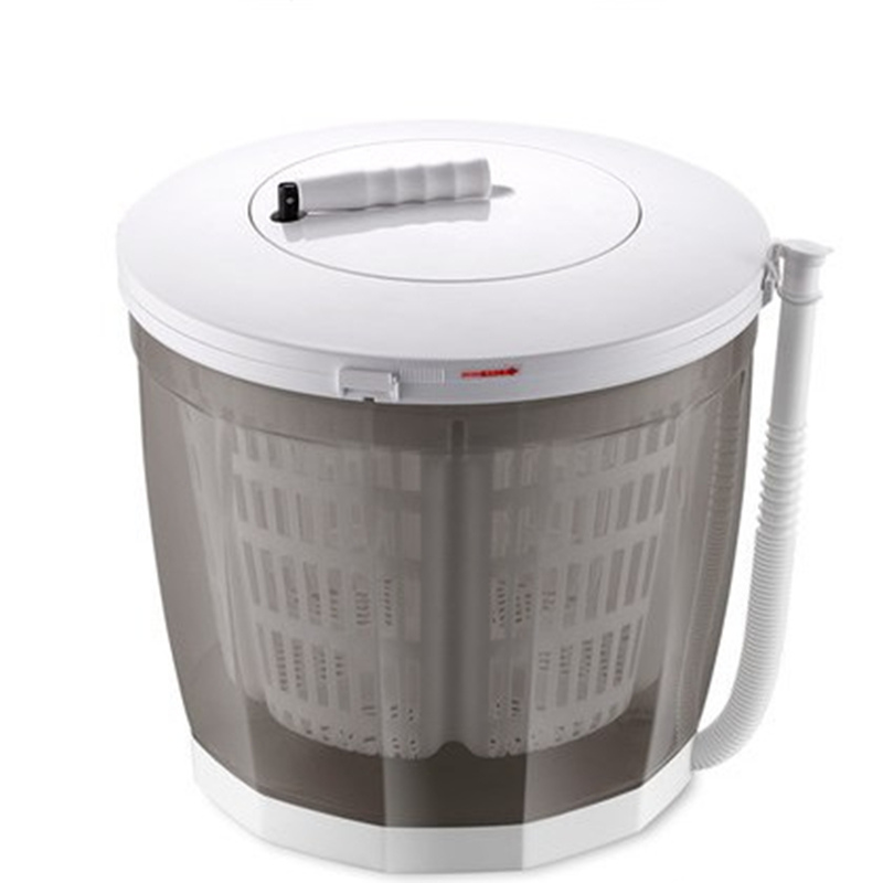 침실 미니 소형 탈수기 터빈, T02-그레이 클래식 세탁빨래 일체형