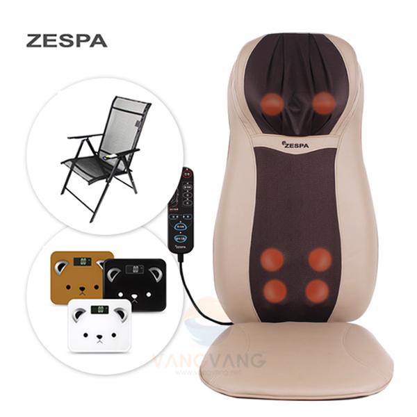 제스파 ZP713 바디제트프로 등마사지기 / 전용의자+체중계증정