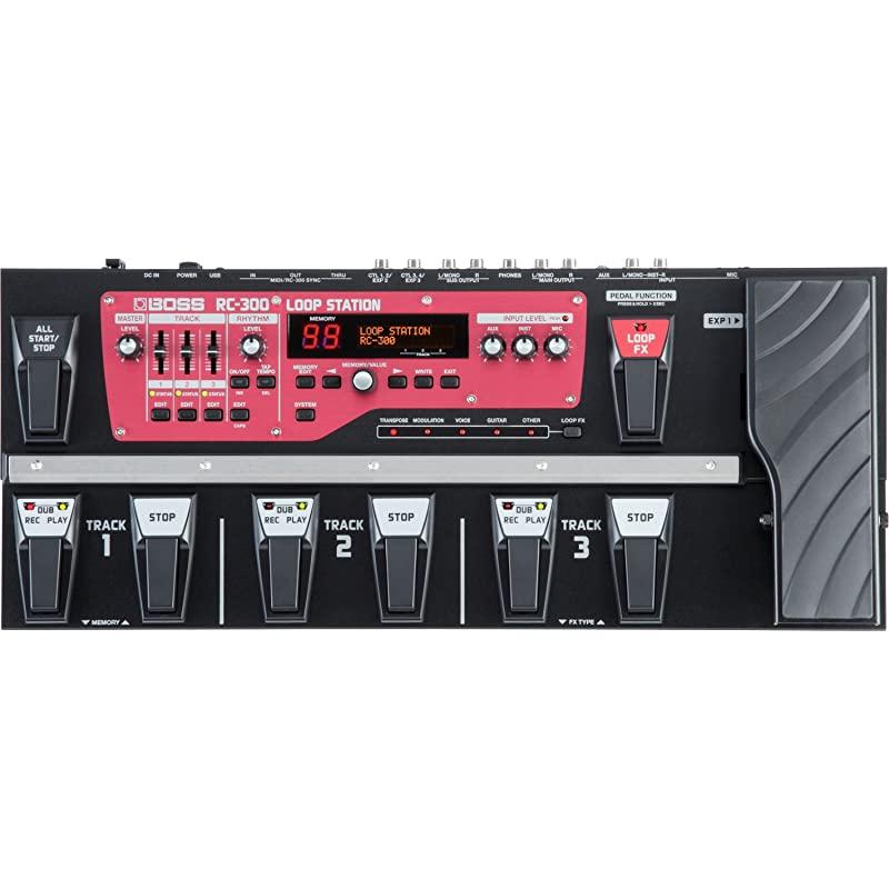 루프 스테이션 기타 페달 RC 300 RC 300, 한 가지 색