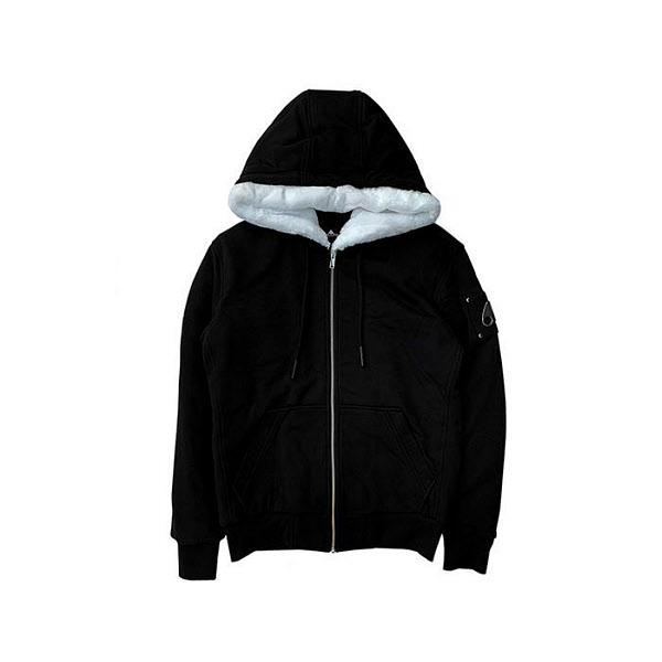 무스너클 Moose Knucles 버니 스웨터 후디 MK8600MS-BK