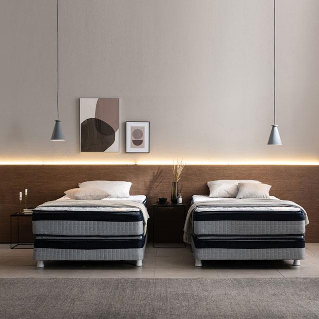아메리카나베드 알레인 양면 슈퍼싱글 투매트리스 호텔침대, 로열스위트(상단+하단+다리)