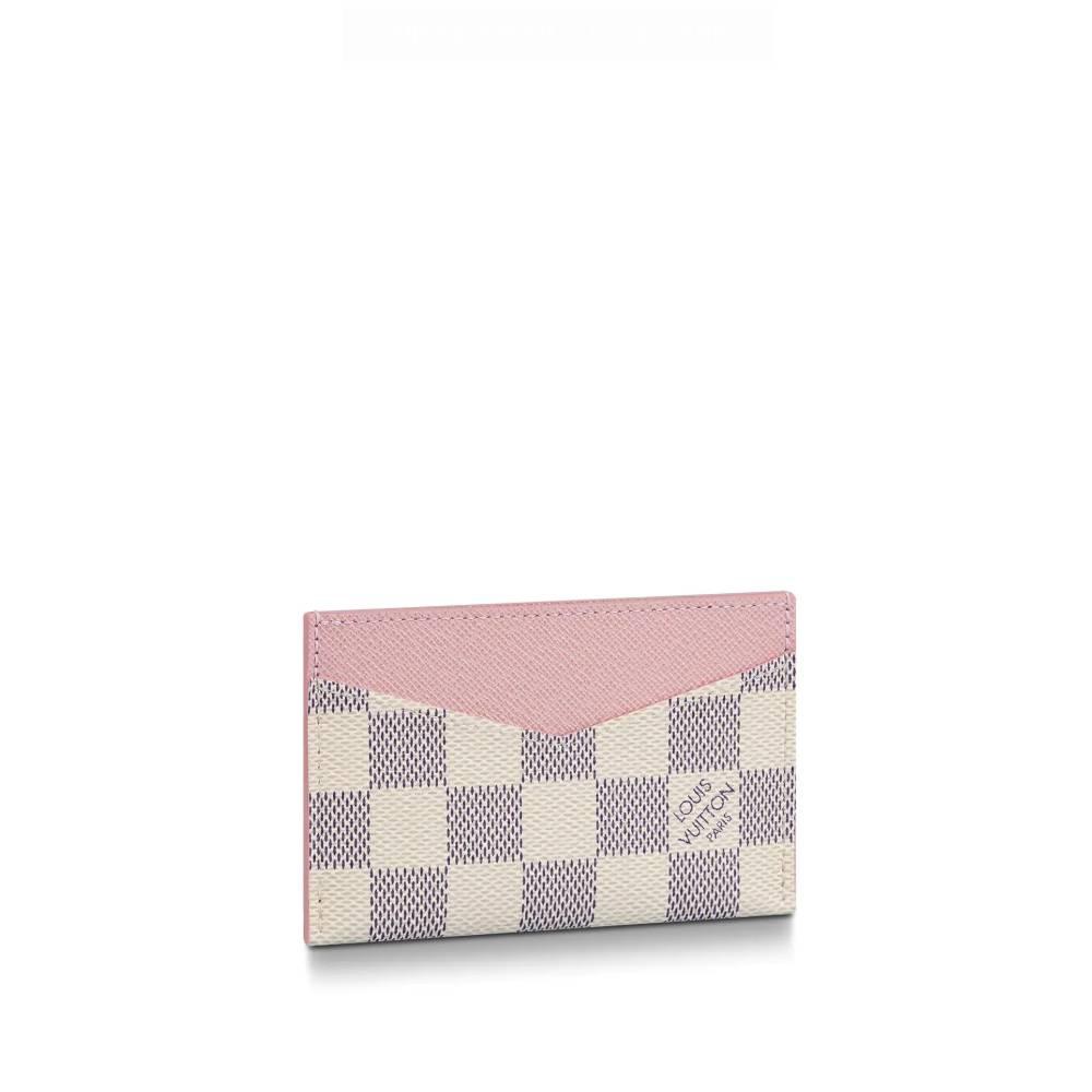 루이비통 지갑 카드 홀더 데일리 로즈 발레린 N60286