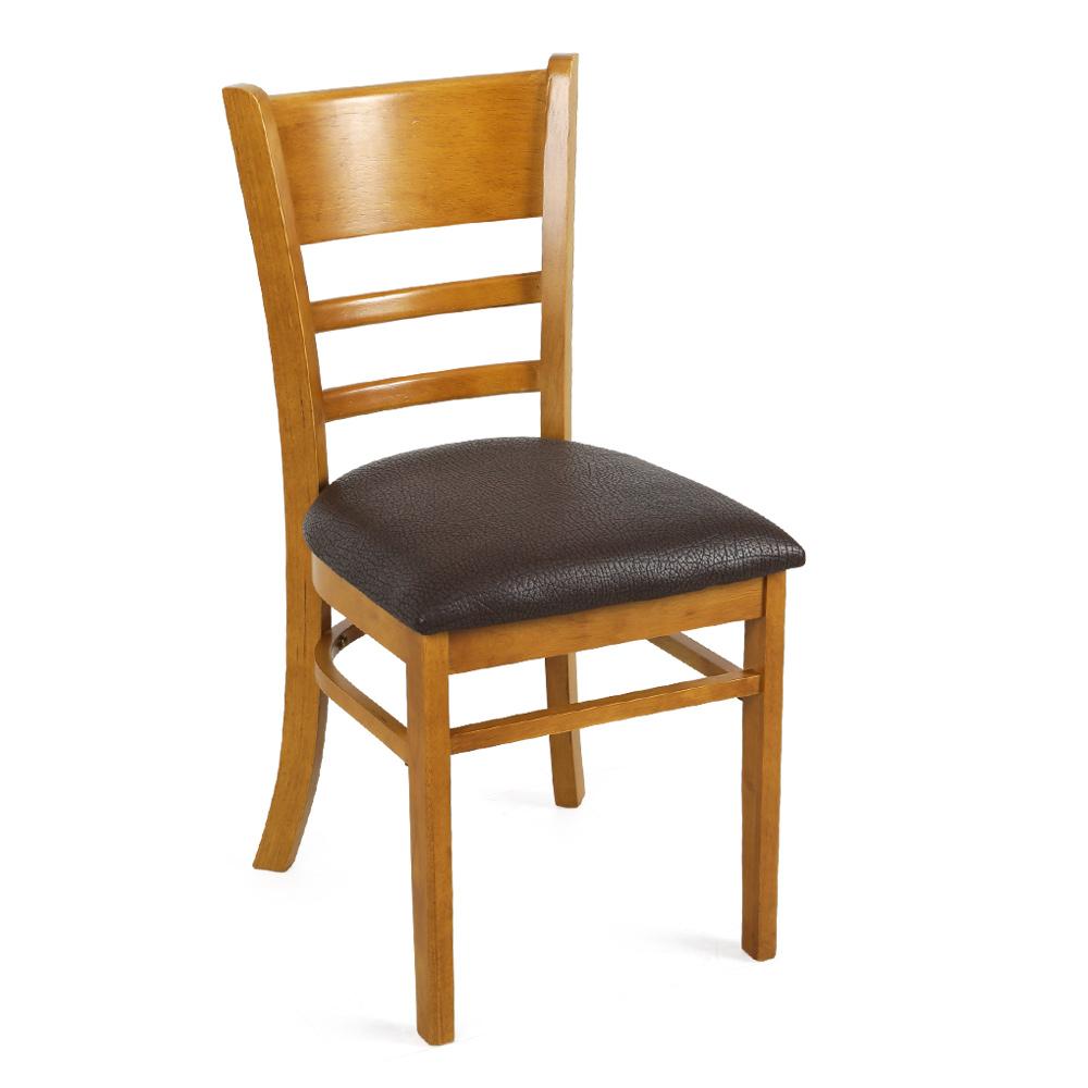 오피스엔홈 캐빈 원목 식탁의자 1+1 앤틱의자 카페 업소 케빈, 앤틱1+1