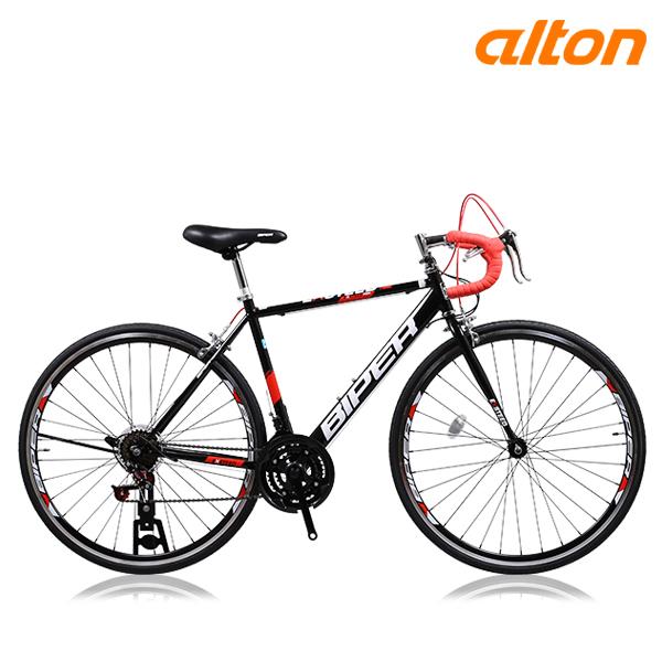 알톤 2020 로드자전거 엑스티드R21 700C 21단 싸이클 로드 자전거, 엑스티드R21(490)블랙+레드 미조립+소형공구