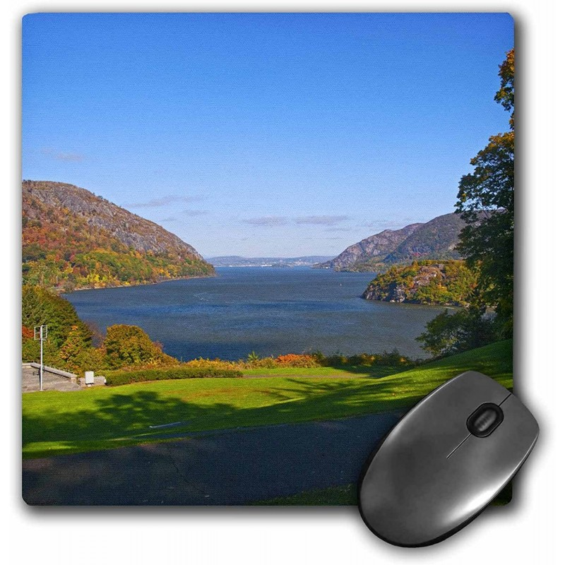 3d Rose Viewing The Grounds at West Point NY-US33 Jre0023 마우스 패드 8