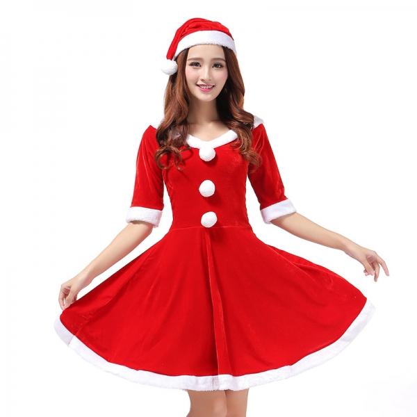 크리스마스 의상 롤플레잉 공연복
