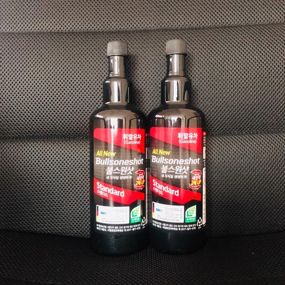 담팔담사 불스원샷 스탠다드 연료첨가제 휘발유용 500ml, 2개