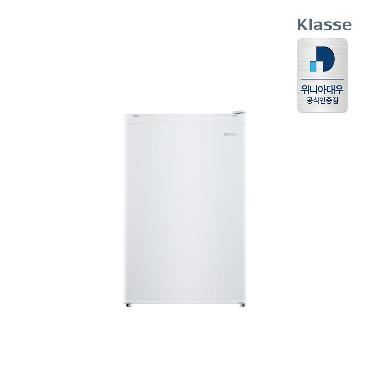 클라쎄 설치무료 73L 1등급 소형냉장고 사무실 원룸 EKRA081CDW