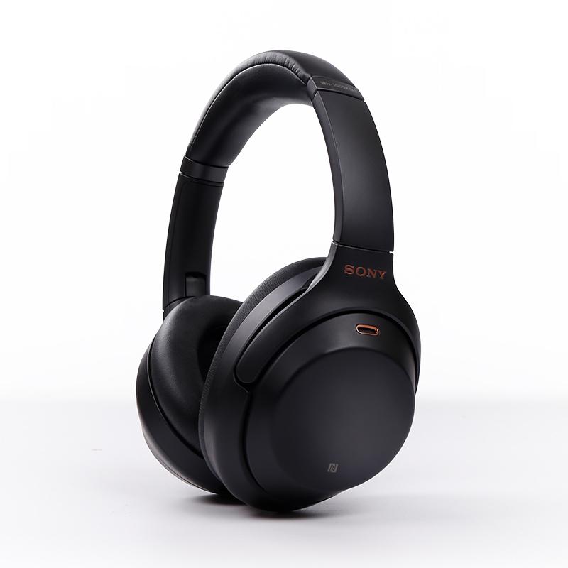 sony 소니 WH-1000XM3 블루투스 헤드폰 헤드셋, 블랙