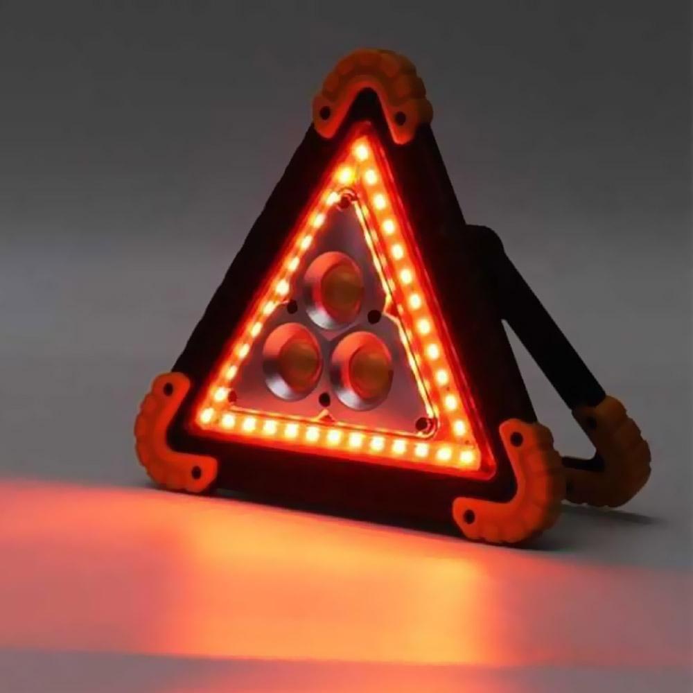 LED 안전삼각대 303 차량용 경광등 불꽃 사고표지판 랜턴 캠핑 서치라이트 비상등