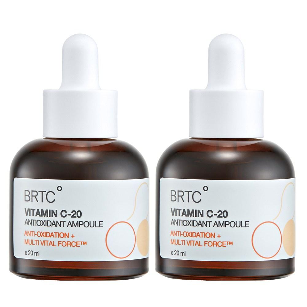 비알티씨 BRTC 2개비타민 C-20 안티옥시던트 앰플 더블세트 [20ml+20ml] 순수비타민앰플, 1세트