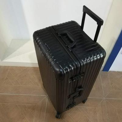 40 인치 상자 큰것 특대사이즈 지퍼형 가죽트렁크 가방 대용량 극소음 여성