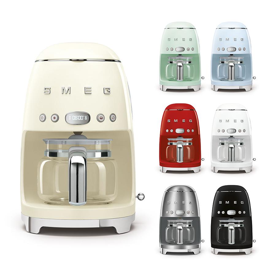스메그 드립 커피머신 DCF02 관부가세 배송비 포함, 블랙 ⓘCWK04564BKⓟ