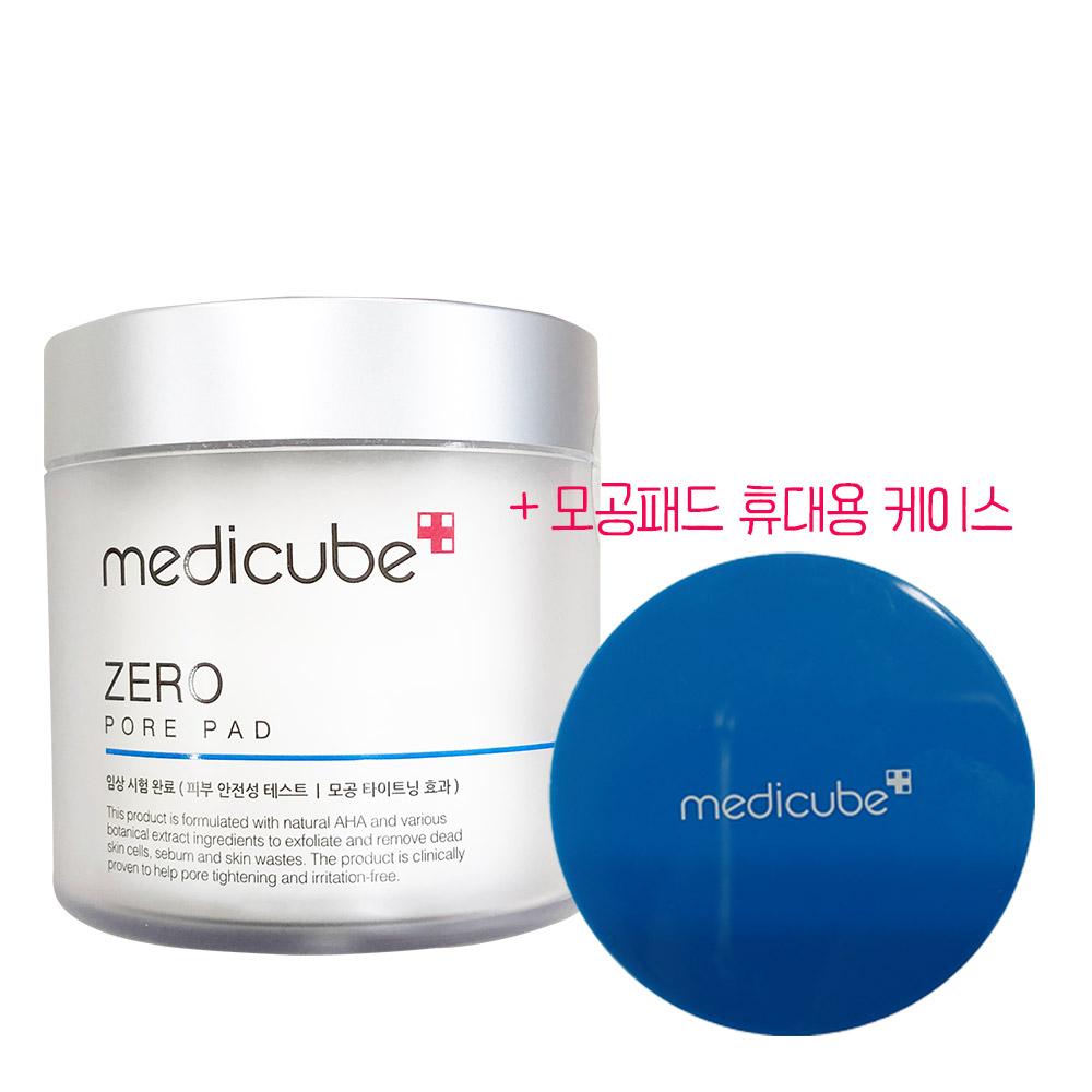 메디큐브 제로 모공 패드 + 휴대용 케이스, 1개, 155g