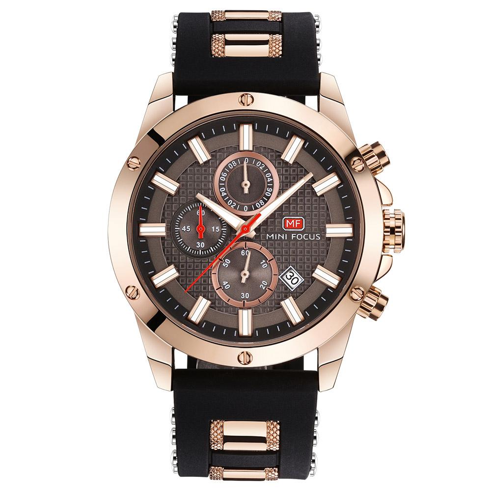 미니포커스 남성용 우레탄밴드 손목시계 MF0089G01