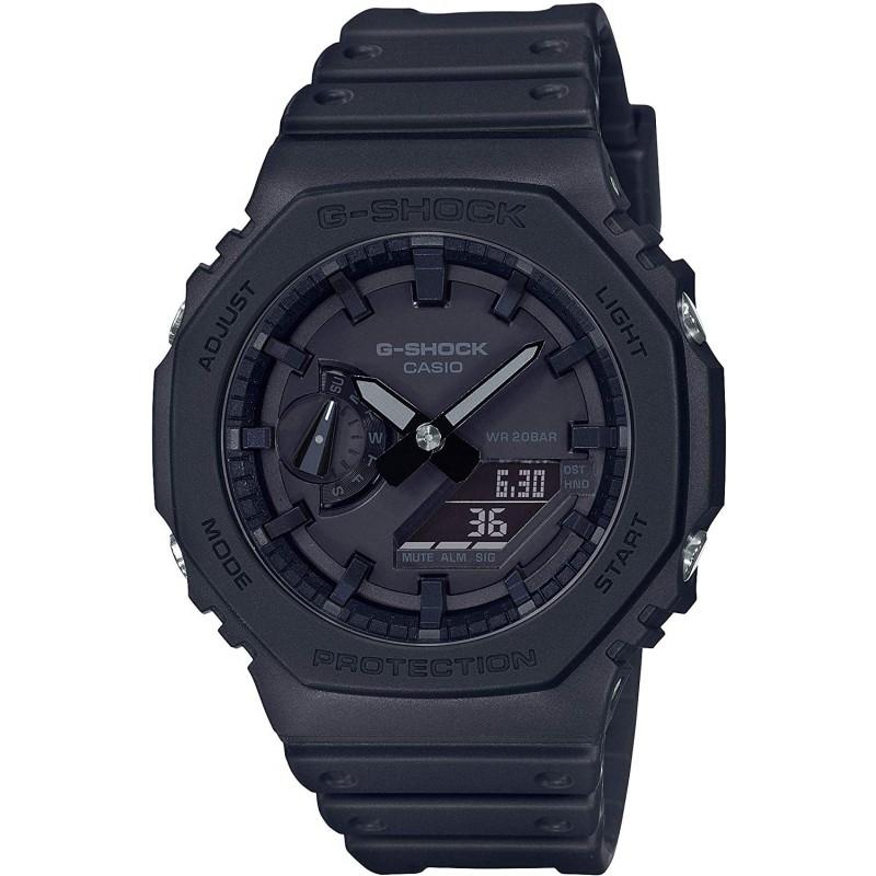 남성 샴푸 [카시오] 시계 지샥 카본 코어 가드 GA-2100-1A1JF 남성 블랙