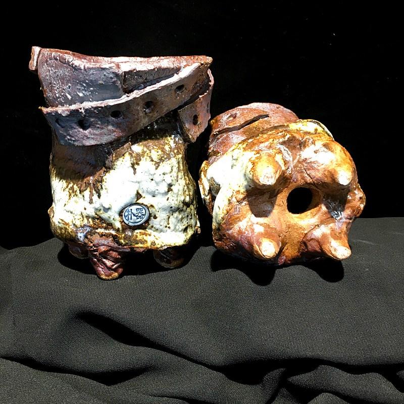 다육 식물 스톤 화초 반려 화산석 현무암판석 돌 화분, 단품, 단품
